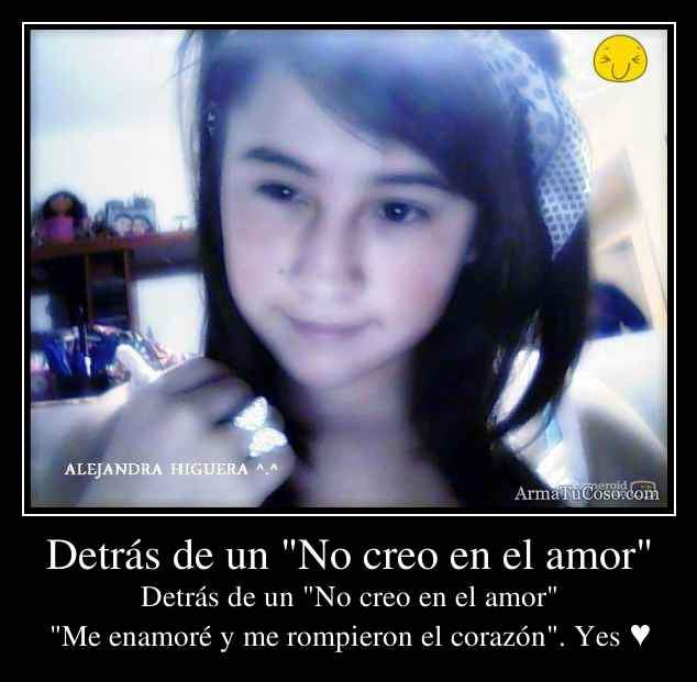 No Creo En El Amor