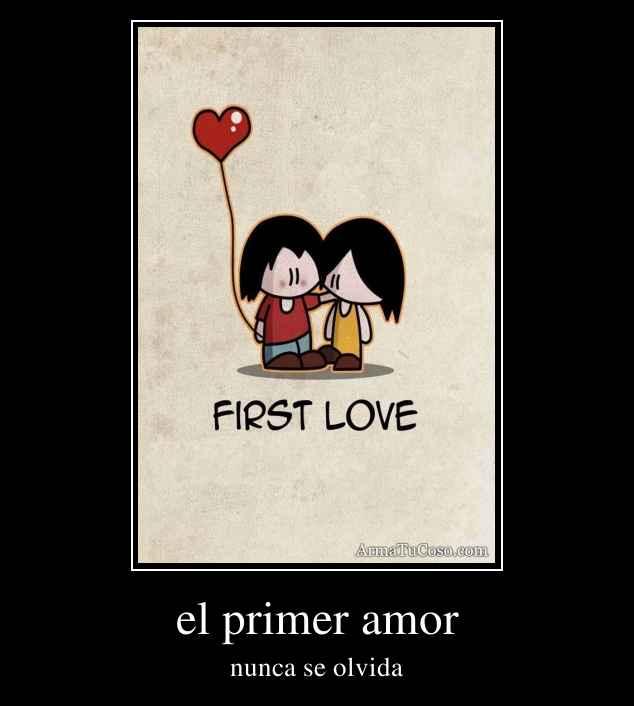 El primer amor lesbiano