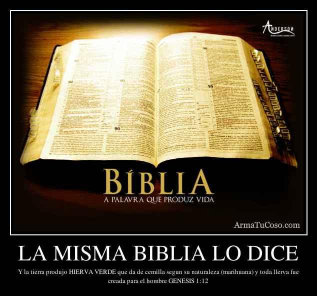 La Biblia dice sexo