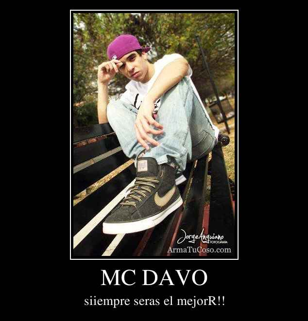 Mc Davo imagenes - YouTube