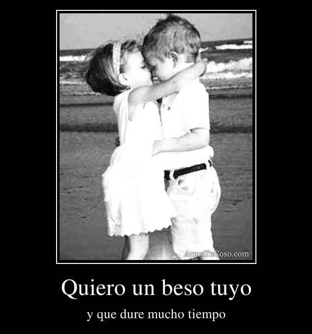 imagenes de amor un beso tuyo