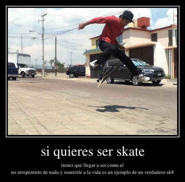 Sos Skater entra!!! ~ albuenchapin bananero
