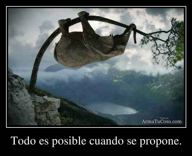 To Do ES Posible