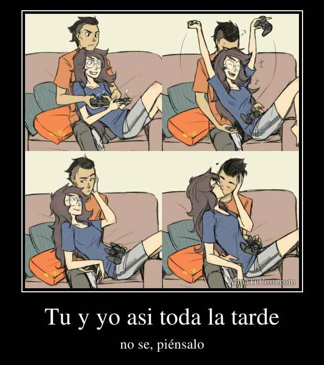 Tu Y Yo Asi Toda La Tarde