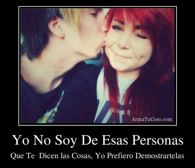 Armatucoso Yo No Soy De Esas Personas 81281